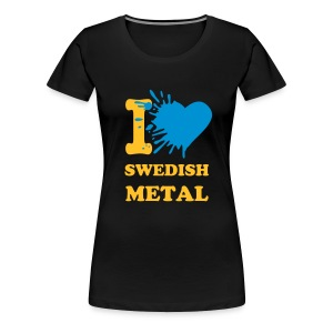 I love swedish metal - Women's Premium T-Shirt