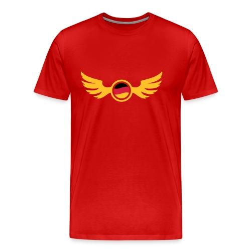 Burgunderrot germany_2 T-Shirts - Männer Premium T-Shirt