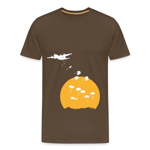 Parachuting - Männer Premium T-Shirt