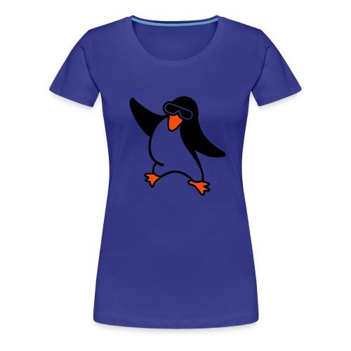 Penguin Basis T-schirt til damer - Dame premium T-shirt