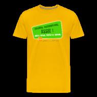 Tee shirts ~ T-shirt Premium Homme ~ LGBT Pride Paris 2010 - Violences, discriminations : assez !