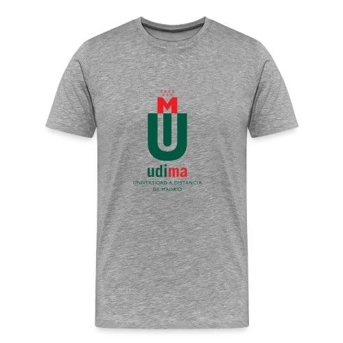 Camiseta Premium hombre logo color- UDIMA - Camiseta premium hombre