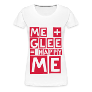 T-Shirts ~ Women's Premium T-Shirt ~ happy glee (F)