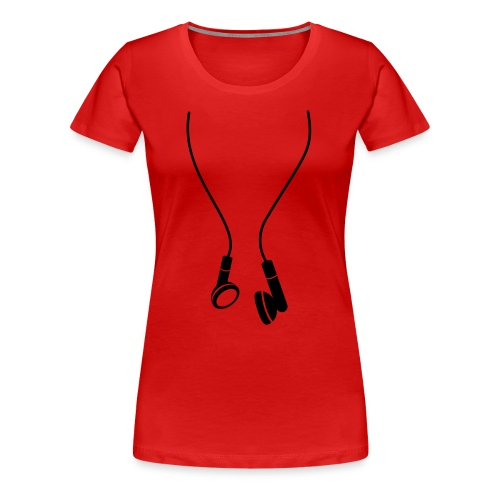 Headphones - Premium-T-shirt dam