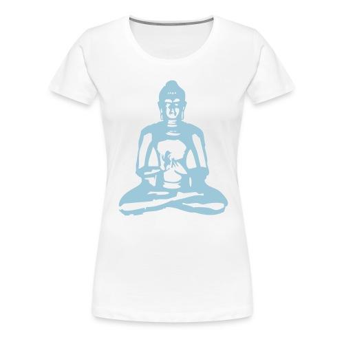 t-skjorte Buddha jente - Premium T-skjorte for kvinner