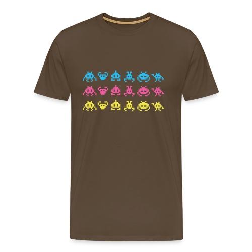 Space  - Mannen Premium T-shirt