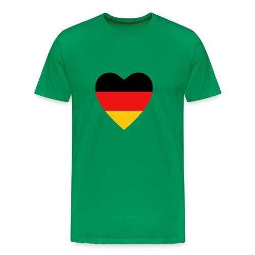 german flag khaki shirt - Men's Premium T-Shirt