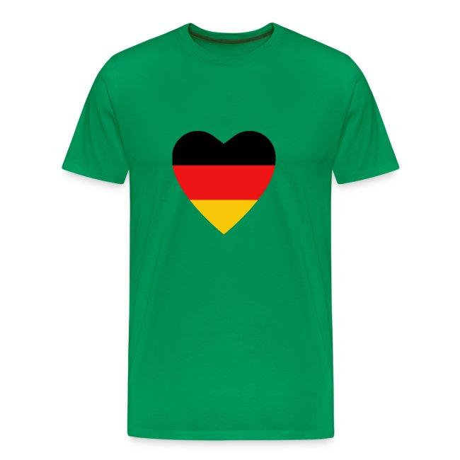 german flag khaki shirt