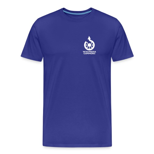Wikimedia Commons poitrine Couleur - T-shirt Premium Homme