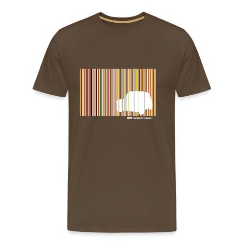 Mini Stripe - Men's Premium T-Shirt