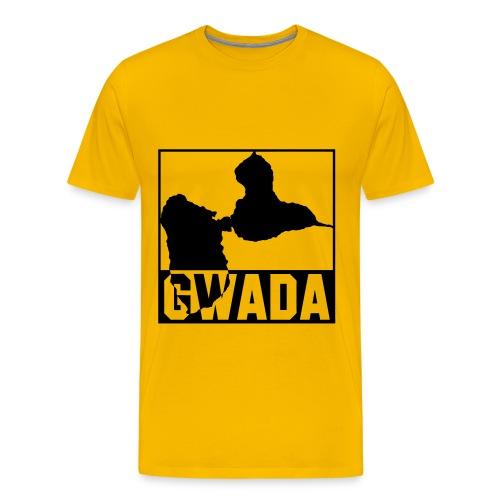 T-Shirt Homme Gwada 1 - T-shirt Premium Homme