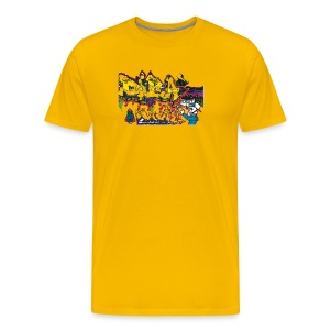 Ben Graffi - Yellow - Men's Premium T-Shirt