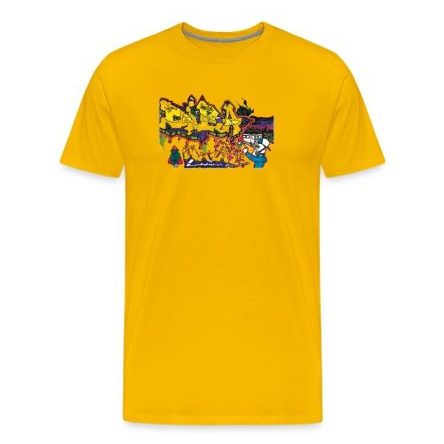 Ben Graffi - Yellow - Men's Premium T-Shirt