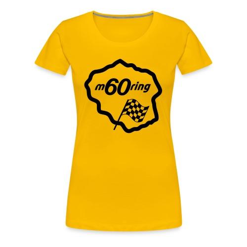 M60Ring - Race Track - Women's Premium T-Shirt