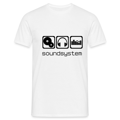 SoundSystem - T-shirt Homme