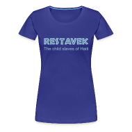 T-Shirts ~ Frauen Premium T-Shirt ~ T-Shirt Frau Restavek 01 © by kally ART®