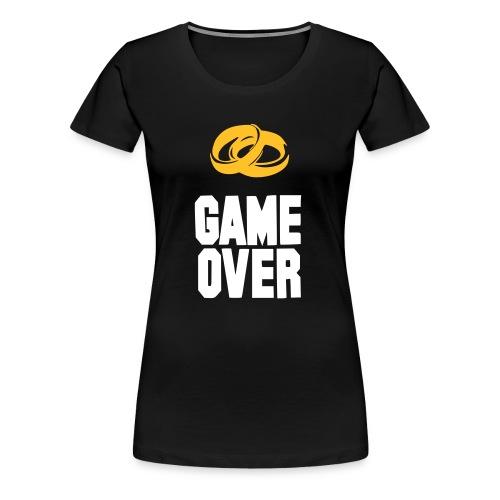 Game over - Maglietta Premium da donna