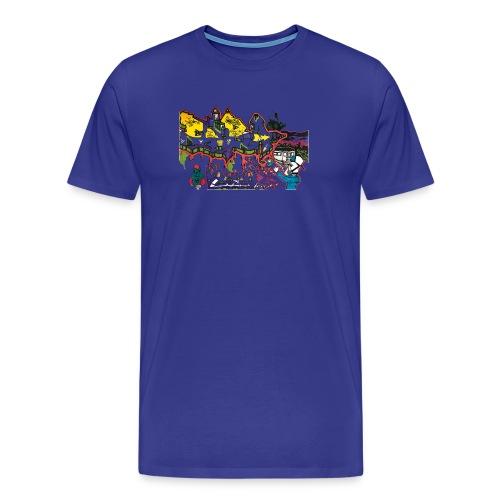 Ben Graffi - Turquoise - Men's Premium T-Shirt