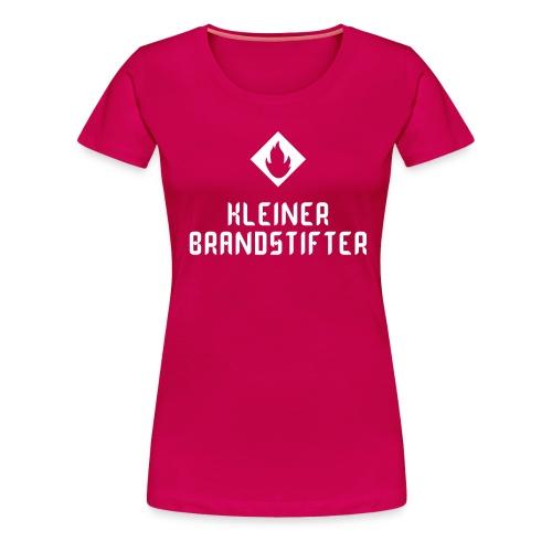 Girlieshirt Kleiner Brandstifter pink - Frauen Premium T-Shirt