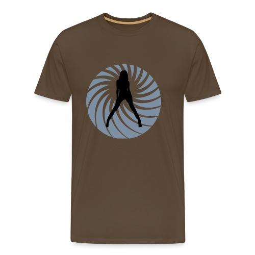 007 Woman - Mannen Premium T-shirt