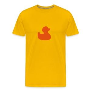 Badeentje - Mannen Premium T-shirt