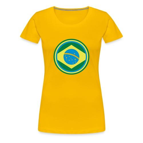 brazil - Koszulka damska Premium