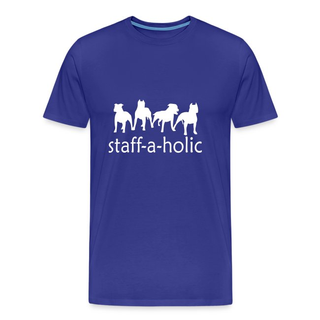 Mens/Unisex 'Staff-a-holic' T-Shirt