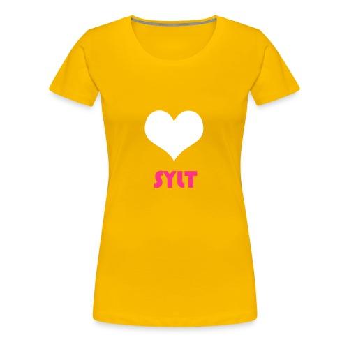 Sylt- I Love - Frauen Premium T-Shirt