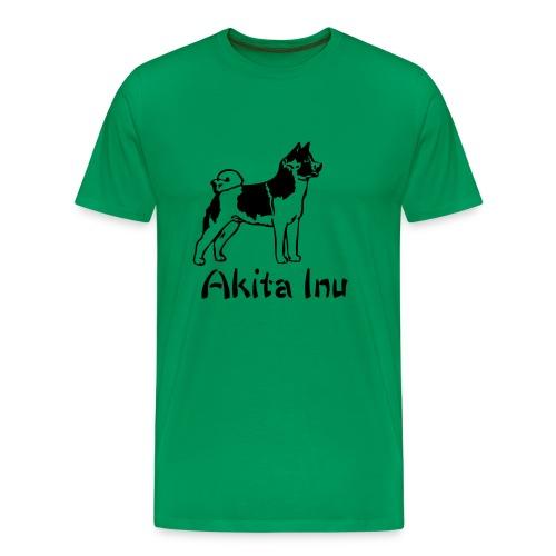 Mens/Unisex Akita Inu T-Shirt - Men's Premium T-Shirt