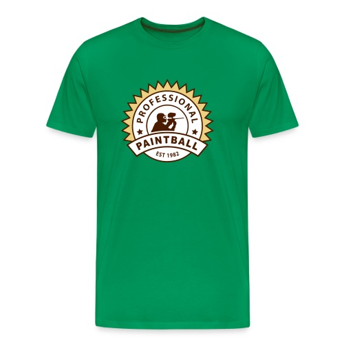Khaki grün prof_paintball_2 T-Shirts - Männer Premium T-Shirt