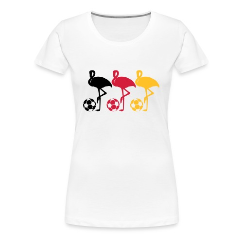 Flamingo - Frauen Premium T-Shirt