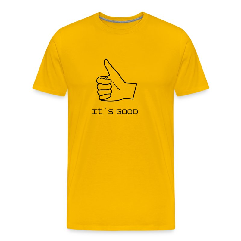 Thumbs up! - Premium-T-shirt herr