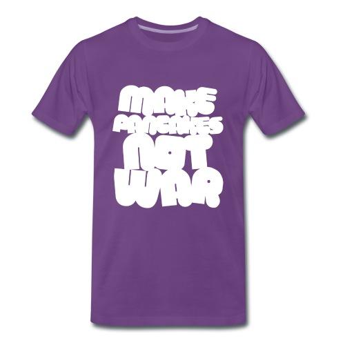 NO WAR! - Men's Premium T-Shirt