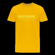 T-Shirts ~ Männer Premium T-Shirt ~ T-Shirt Mann Restavek 01 © by kally ART®
