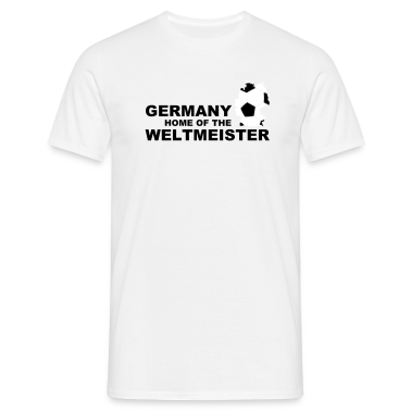 germany home of the weltmeister 2 T-Shirts