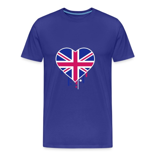 england blue - Men's Premium T-Shirt