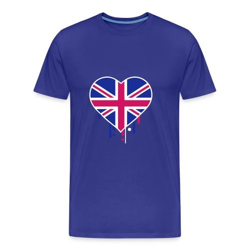 england blue - Men's Premium T-Shirt