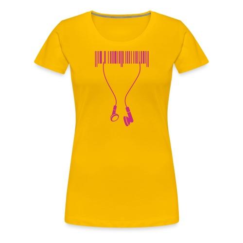 T-Shirt Femme Kodbar - T-shirt Premium Femme