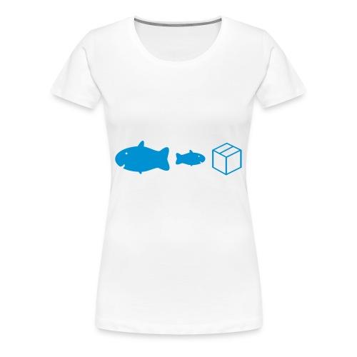 Big Fish, Little Fish... - Women's Premium T-Shirt