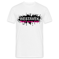 T-Shirts ~ Männer T-Shirt ~ Mann T-Shirt Restavek Splash 03pink © by kally ART®