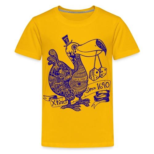 Wotto Dodo - Teenager Premium T-Shirt