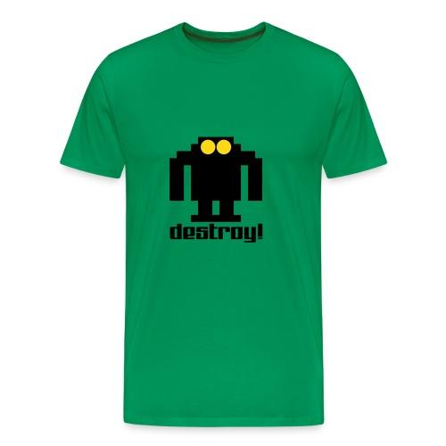 destroy - Camiseta premium hombre