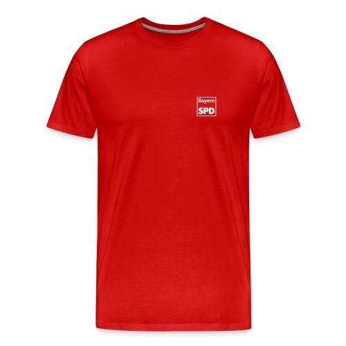 Männer Übergrössen-Shirt - Männer Premium T-Shirt
