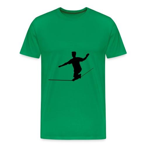 Slackliner - Männer Premium T-Shirt
