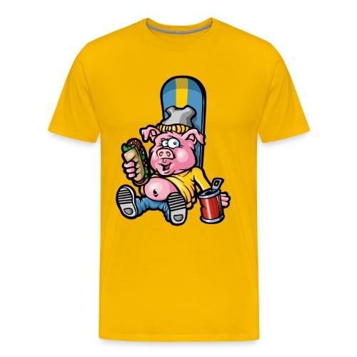 Snow yel Grouik - T-shirt Premium Homme