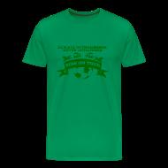 T-Shirts ~ Men's Premium T-Shirt ~ Never Outgunned