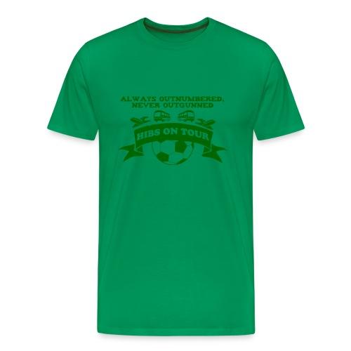 Never Outgunned - Men's Premium T-Shirt