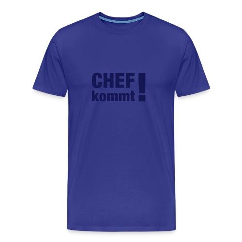 Chef-Shirt Männer - Männer Premium T-Shirt