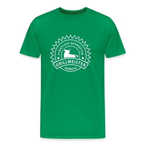 Khaki grün Grillmeister T-Shirts - Männer Premium T-Shirt