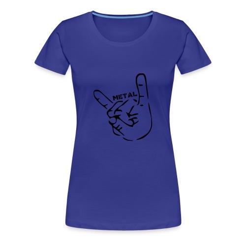Metal - Women's Premium T-Shirt